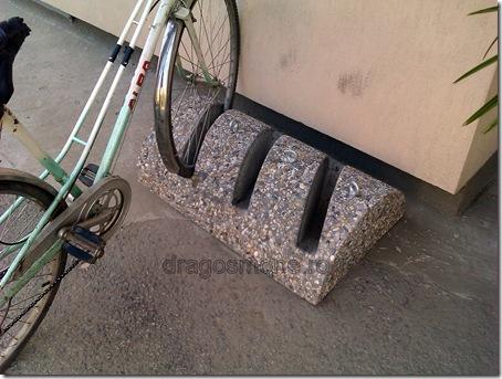 suport bicicleta beton