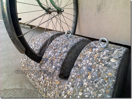 suport bicicleta mozaic