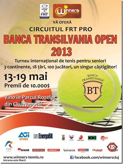 afis Banca Transilvania Open 2013