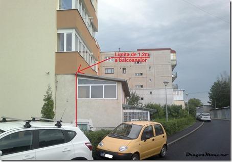 balcon extins